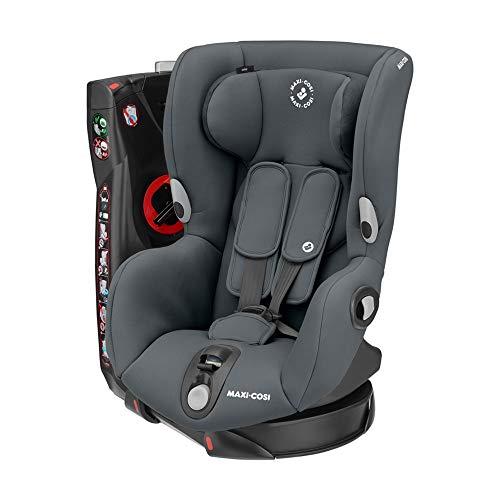 Maxi-Cosi 8608550110 Maxi-Cosi Axiss, drehbarer Kindersitz, Gruppe 1 Autositz (9-18 kg), nutzbar ab 9 Monate bis 4 Jahre, Authentic graphite, grau