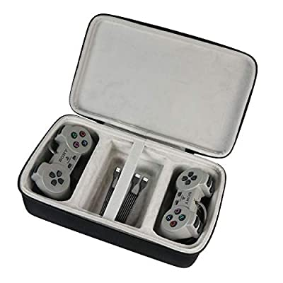 Khanka Hard Case Carrying Travel Bag for Sony PlayStation Classic Console
