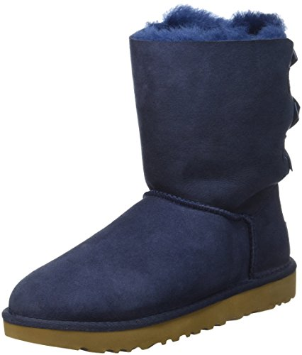 UGG Australia W Bailey Bow II Schuhe Damen Boots Stiefel Navy 1016225 W/Navy, Größenauswahl:42