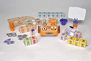 KinderLab Robotics KIBO 21 - The Screen-Free STEAM Robot Kit for Children 4 - 7