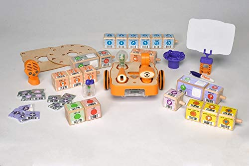 robots for students KIBO 21 Robot Kit - Screen-Free, Playful, Creative Coding STEAM Robotics for Students Ages 4–7 – Introduces Hands-On Coding, Robotics, and Engineering