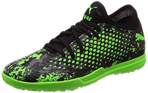 Puma Future 19.4 TT, Herren Fußballschuhe, Schwarz (PUMA Black-Charcoal Gray-Green Gecko 03), 43 EU (9 UK)