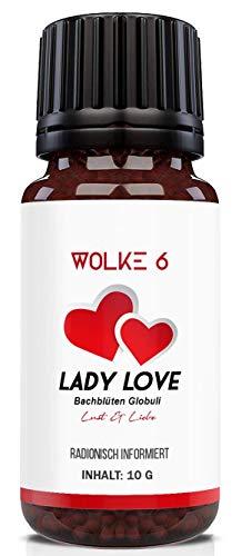 Lady Love – Globuli für die Frau – Lust & Liebe – radionisch informiert – 100% natürlich