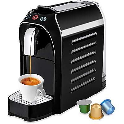 Best Choice Products Programmable Auto Espresso Single-Serve Coffee Maker Brewer, Nespresso Pod Compatible