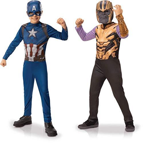 Rubies Disfraz Oficial Capitn Amrica y Thanos panoplia, 155146L
