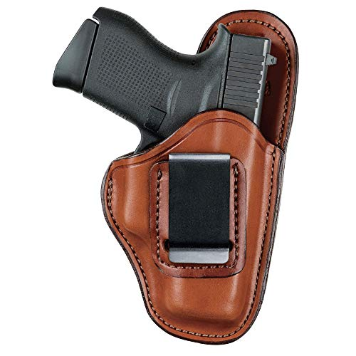 Bianchi Gun Leather 100 Professional Inside the Waistband Holster - Right Hand, Size 11 - Tan (1016781)