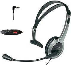 Panasonic Hands-Free Headset with Foldable Comfort Fit Lightweight Headband & Flexible Optimum Voice Microphone with Volum... photo