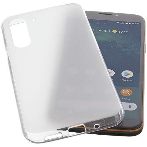 Hülle für Doro 8080 Tasche Gummi TPU Schutz Handytasche transparent