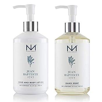 Niven Morgan Jean Baptiste 1717 Hand Soap and Lotion Set