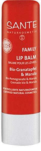SANTE Naturkosmetik Lipbalm Bio-Granatapfel & Marula, 4.5g