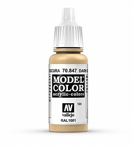 Vallejo Model Color Pintura Acrílica, Beige (Dark Sand), 17 ml