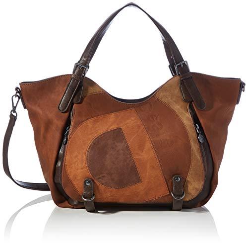 Desigual Womens Accessories PU SHOULDER BAG, Brown, U