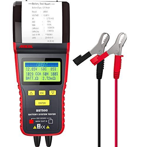ANCEL BST500 12V/24V 100-2000 CCA Automotive Battery Load Tester