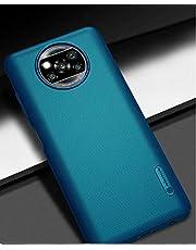 YHBD voor xiaomi Poco x3 NFC case met magnetische ringhouder anti-kras siliconen harde cover premium flexibele dunne cover schokbestendig met valbescherming case voor smartphone (blauw)