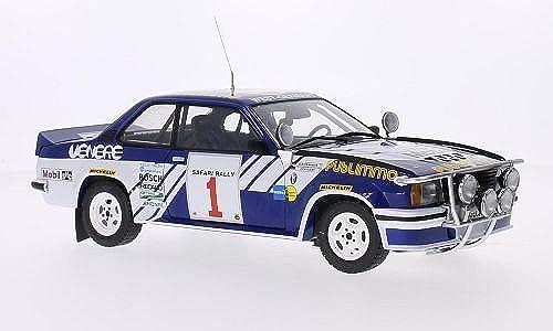 Opel Ascona 400 Rally, No.1, Venere Publimmo, Rallye WM, Safari Rallye, 1981, Modellauto, Fertigmodell, Sun Star 1 18