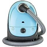 Nilfisk 128350583 Aspiradora, 280 W, 2.1 litros, 77 Decibelios, Plástico, Negro, Azul