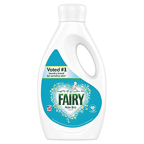 Fairy Non Bio Waschmittel für empfindliche Haut, 1,33 l, 38 Waschgänge