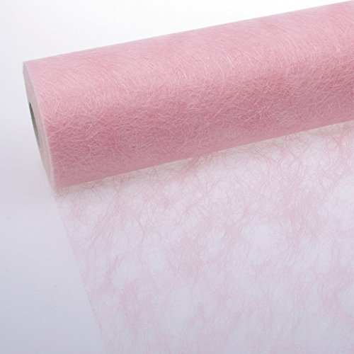Sizoflor Tischband zartrosa 30 cm Rolle 5 Meter - 60-300-5-033
