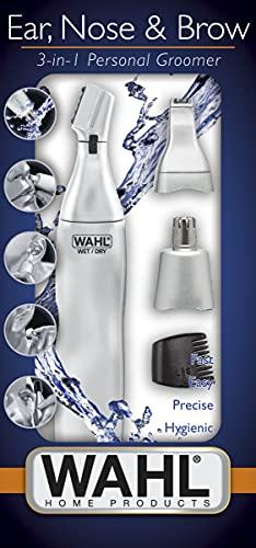 Wahl 5545-2416 - Cortadora de vello para orejas y nariz, 3 en 1, lavable,...
