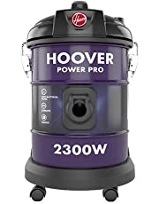 Hoover Power Pro Tank Vac Vacuum Cleaner 2300W Purple, 22L, HT85-T3-ME