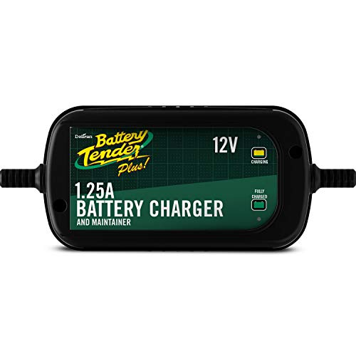 Battery Tender Plus Charger and Maintainer: Automatic 12V Powersports Battery...