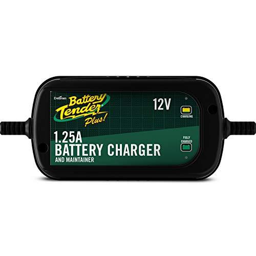 Battery Tender 022-0185G-dl-wh Black 12 Volt 1.25 Amp Plus