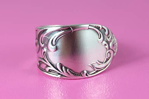 Rokoko Besteckschmuck Ring ca. 63 (20) Ring aus Besteck