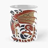 Rathalos Dragon Mhw Monster Hunter World Gift Coffee/tea Ceramic Mug Father Day