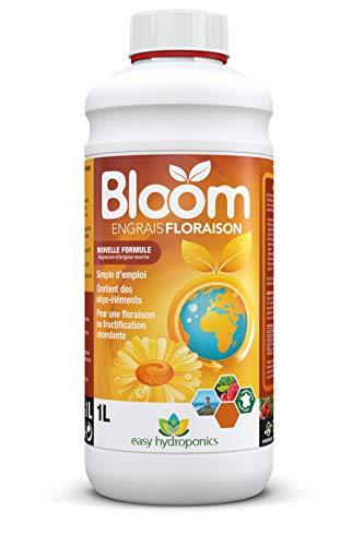 professionnel comparateur Easy Hydroponics-Nutrients-Bloom 1 L (pour la floraison) -Engrais complet pour la culture hydroponique choix