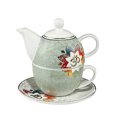 Om Grün - Tea for One Lotus Yin Yang