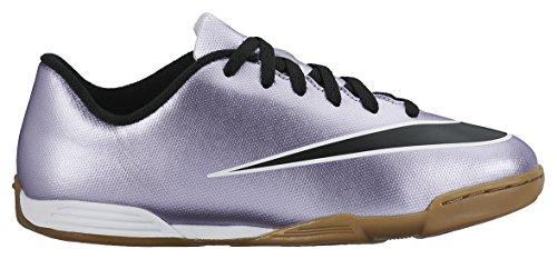 Nike Jr Mercurial Vortex II IC - Zapatillas de Deporte, Niñas, Morado / Negro / Amarillo / Blanco, 33