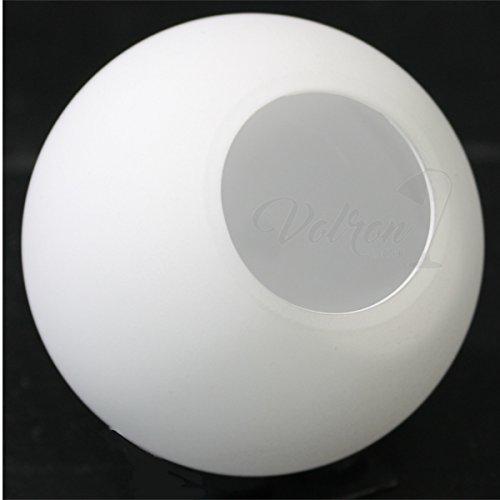 Lampenschirm Ersatzglas Leuchtenschirm Lampenglas Ø60mm - G4, Opalglas weiß matt