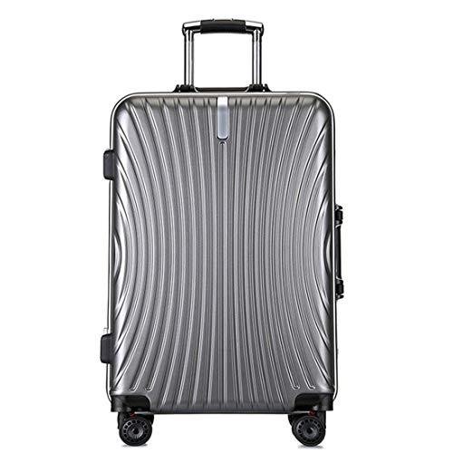 WTY Maleta de Viaje, Gris Trolley de aleación de Aluminio, Rueda Universal | Maleta...