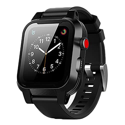 Apple Watch 完全防水 バンド ケース Series シリーズ 3 2 AppleWatch3 AppleWatch2 42mm アップルウォッチ 防水 カバー ベルト 防塵 全面保護 フェス プール 海 スキー スノボー 釣り アウトドア 耐衝