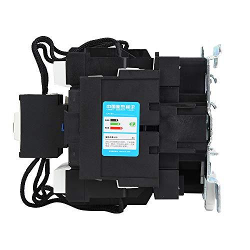 Contactor de interruptor, Contactor de condensador AC380V 80A, Retardante de llama de contacto de aleación de plata 3P para equipos de compensación de potencia reactiva de bajo voltaje