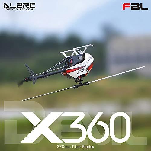 Leeofty X360 Fast FBL 6CH 3D Flying RC Helicopter Kit Versión (No Hay componentes electrónicos)