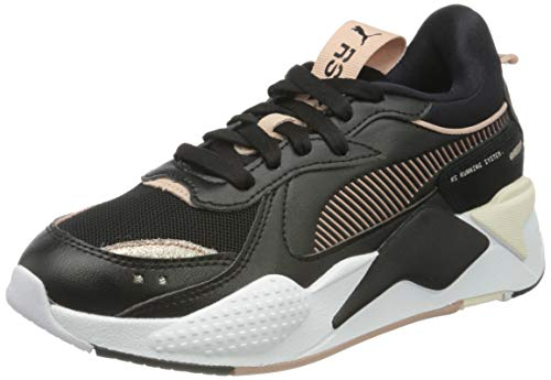 PUMA RS-X Mono Metal WNS, Zapatillas Mujer, Negro Black/Rose Gold, 36 EU