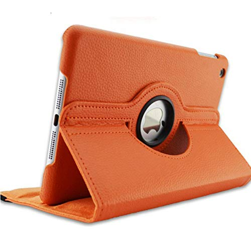 Tab 3 7.0 SM-T210 360 Degree Rotating PU Leather Flip Cover Case For Samsung Galaxy Tab 3 7.0 T210 T211 T217 P3200 Tablet Cover-Orange