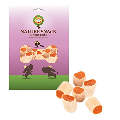 Nature Snack per Cani Sushi di Pollo 80 gr