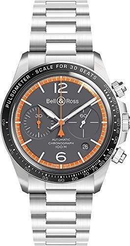 Bell & Ross Reloj vintage para hombre - Ref.BRV294-ORA-ST/SST