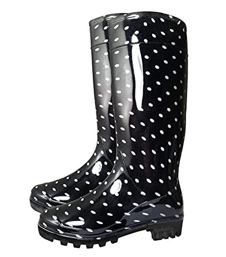 SUGAR ISLAND Ladies Womens Wellies Snow Rain Festival Wellington Boots Size...