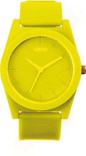Lexon Uhr Frühling Gelb