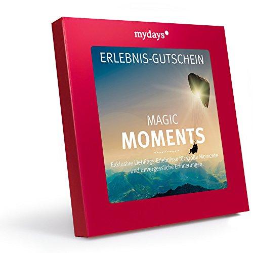 mydays Erlebnis-Gutschein 'Magic Moments' | 1 bis 2 Personen, 75 Erlebnisse und Übernachtungen, 1055 Orte