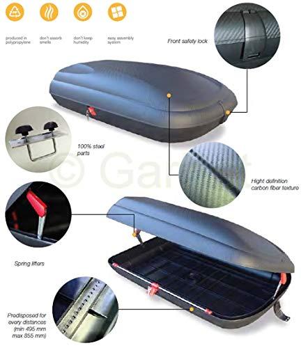Dachbox Dachgepäckträger Gepäckbox Gepäck Dachkoffer Auto Dach Box Autobox 320 L