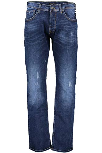 Guess Jeans M73AR1D2NJ0 Jeans Denim Uomo Blu Bump 33