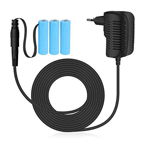 AIEVE Adaptador de alimentación de 4,5 V, adaptador de batería, repuesto para...