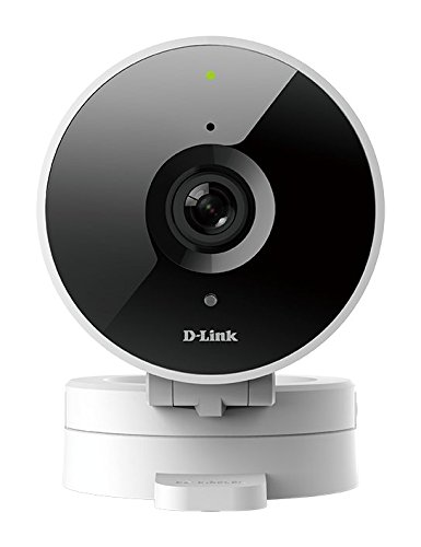 D-Link HD WiFi Indoor Security Camera, Cloud Recording, Motion Detection & Night Vision, Amazon Alexa (Echo Show/Echo Spot/Fire TV), Google Assistant (Chromecast) (DCS-8010LH-US) White/Black