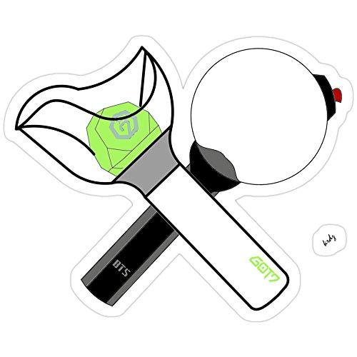 Deangelo BTS X GOT7 Aufkleber (3 Stück/Pack)