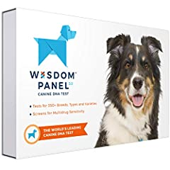 DOG DNA BREED ANCESTRY TESTING KIT: With a simple cheek swab you can do at home, the Wisdom Panel test analyzes for more than 350 breeds, types, & varieties. Some customers may receive kits with older packaging that still refers to 250+ breeds; rest ...