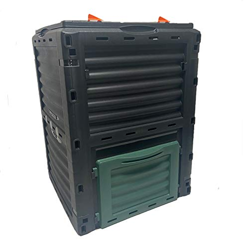 William Charles 300 Litre Garden Compost Bin Flat Pack Composter 300L - Made In Europe